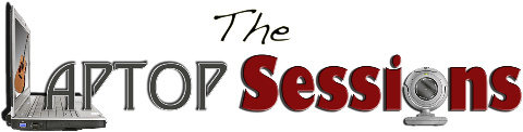 the laptop sessions acoustic cover songs music video blog logo