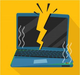 How to fix laptop power jack