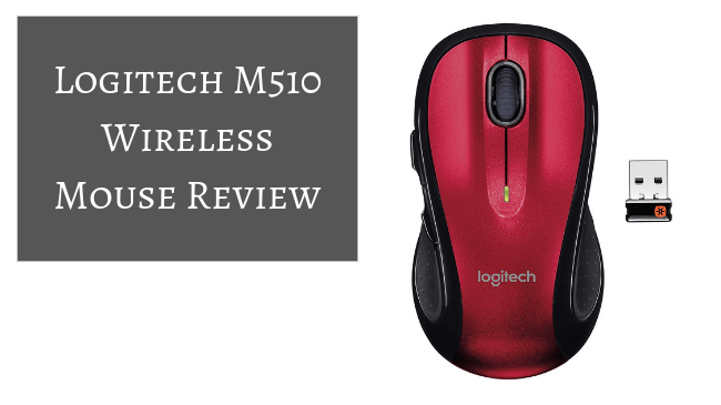 7d3ec5f066d Logitech M510 Wireless Mouse - Laptop Workplace