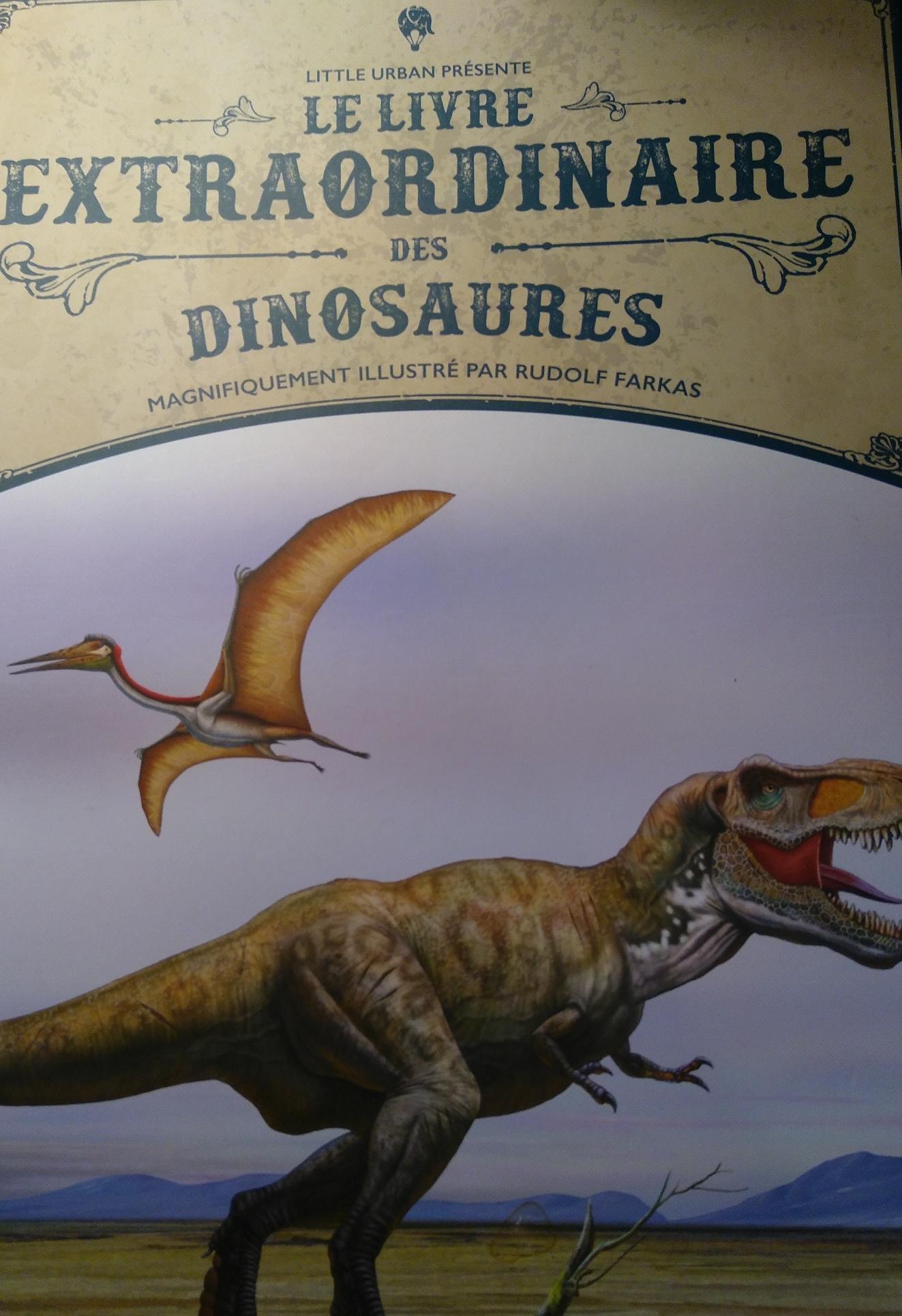 Le Livre Extraordinaire Des Dinosaures : livre, extraordinaire, dinosaures, Livre, Extraordinaire, Dinosaures, éditions, Urban, L'oreille, Cyrano