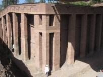 Iglesia Bet Medhane Alem (bet significa casa)