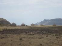 Uno de los pocos poblados que vimos
