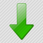 arrow-down-green-150×150