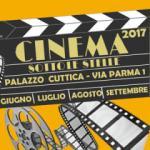 Cinema all'aperto, Palazzo Cuttica apre la stagione estiva