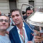 Festa dei tifosi grigi per la Coppa Italia