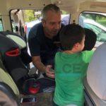 Salvati due bambini chiusi in auto sotto il sole cocente