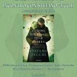 """Stefano Zecchi ad Alessandria presenta """"L'amore nel fuoco della guerra"""""""