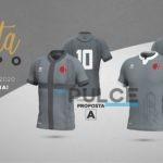 A strisce, scudata o col logo: si pensa già alla nuova maglia grigia