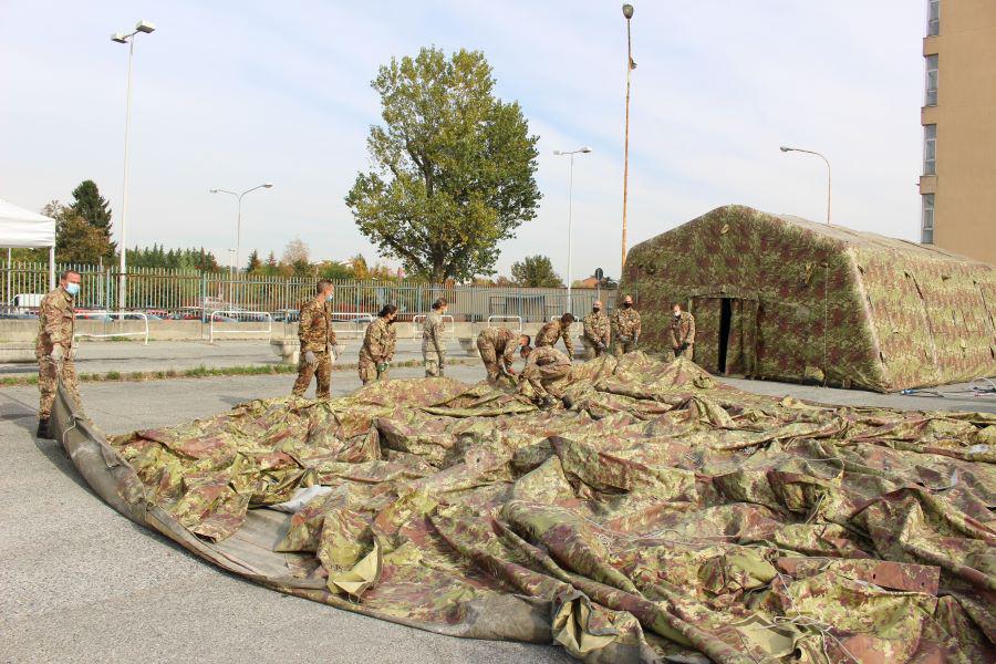 esercito ospedale campo