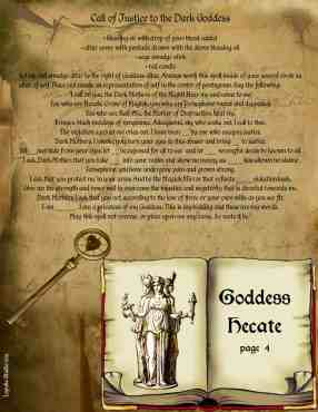 Pagan / Wiccan Goddess Hecate info page 4