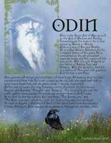 Odin - Northern God information page 1
