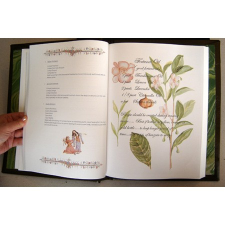 Herbal Grimoire a Book of Herbal Magic