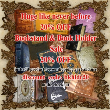 Huge 20% Book-Stand and Book Holder Sale