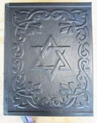 Custom Leather Book Of Shadows