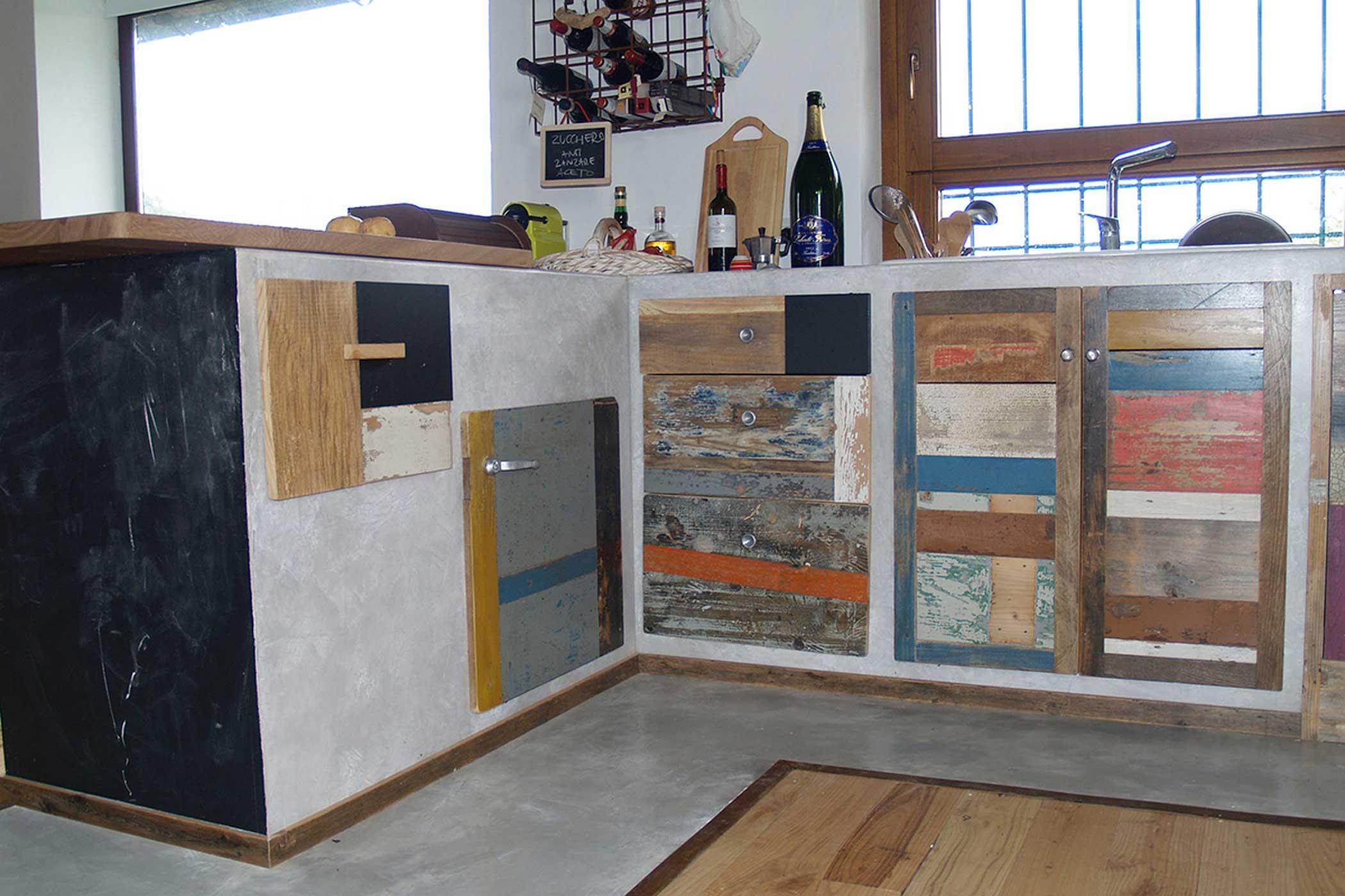 Cucina in resina 2015