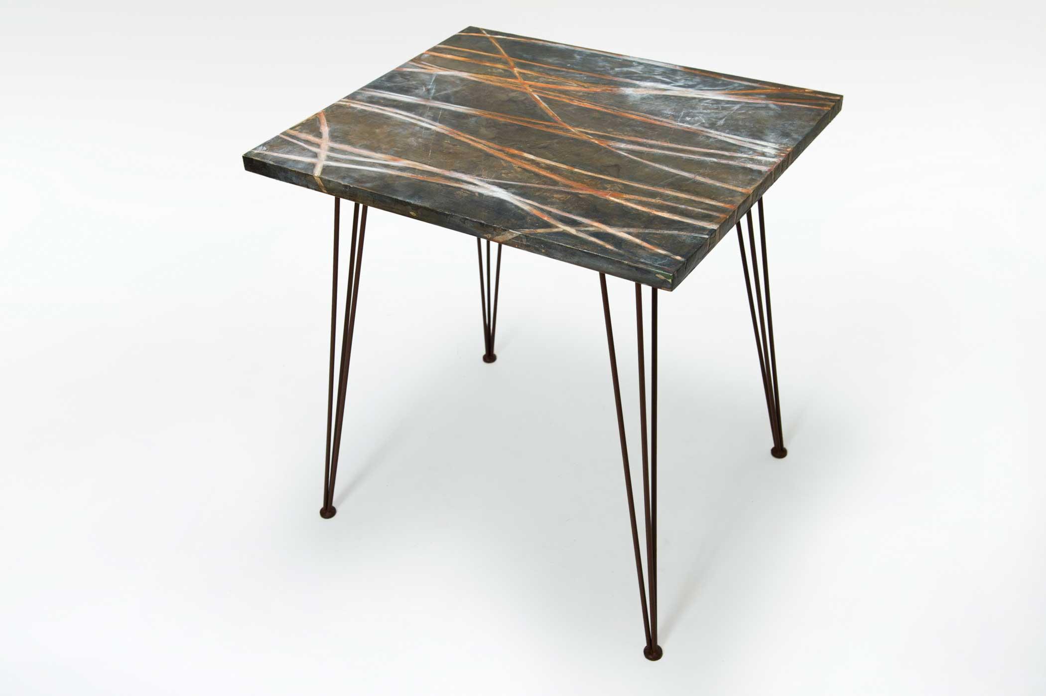 Tavolo artigianale contemporaneo