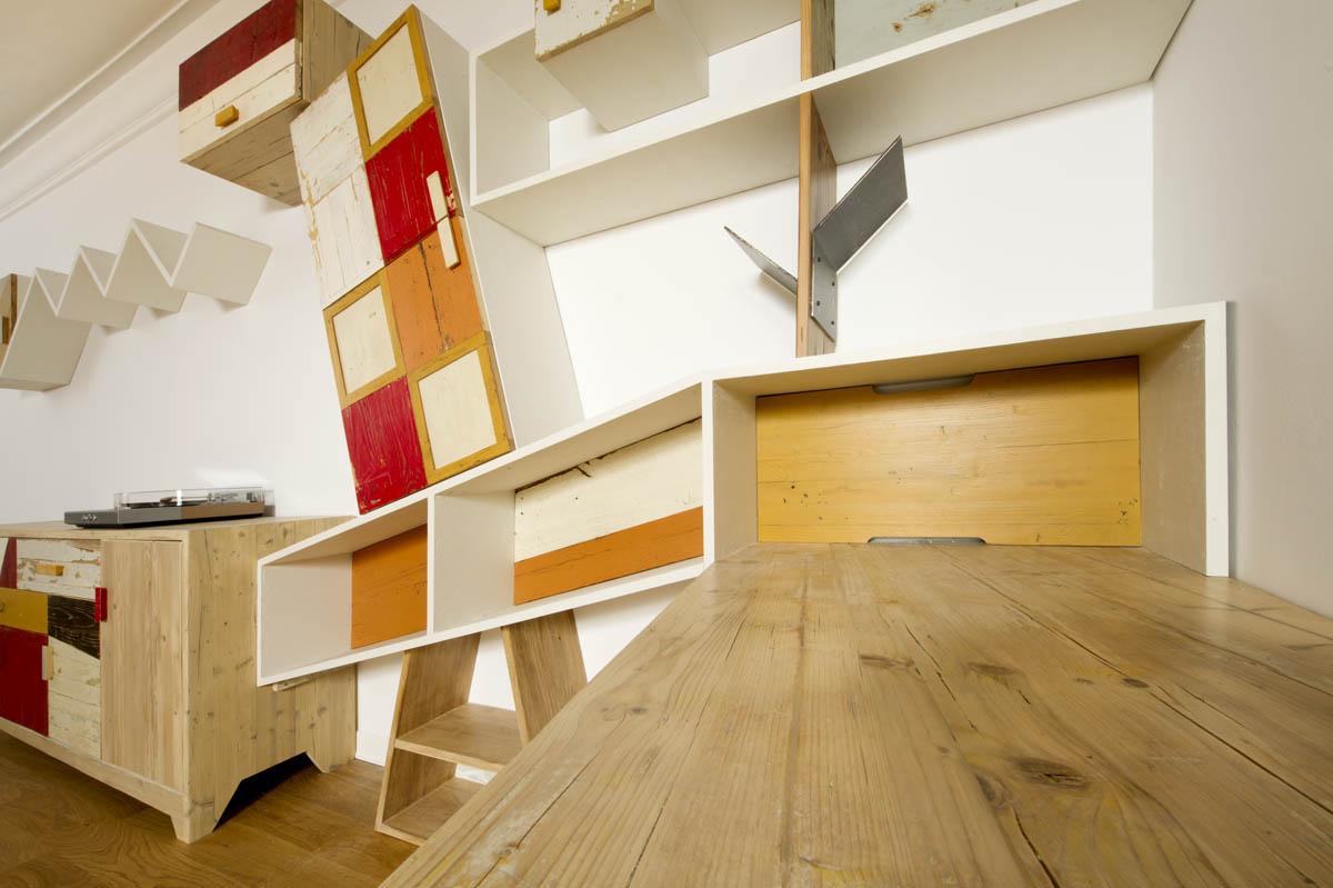 Con una parete attrezzata moderna invece la tua zona living avrà un'aria aperta e accogliente. Pareti Attrezzate Moderne In Legno Su Misura Laquercia21