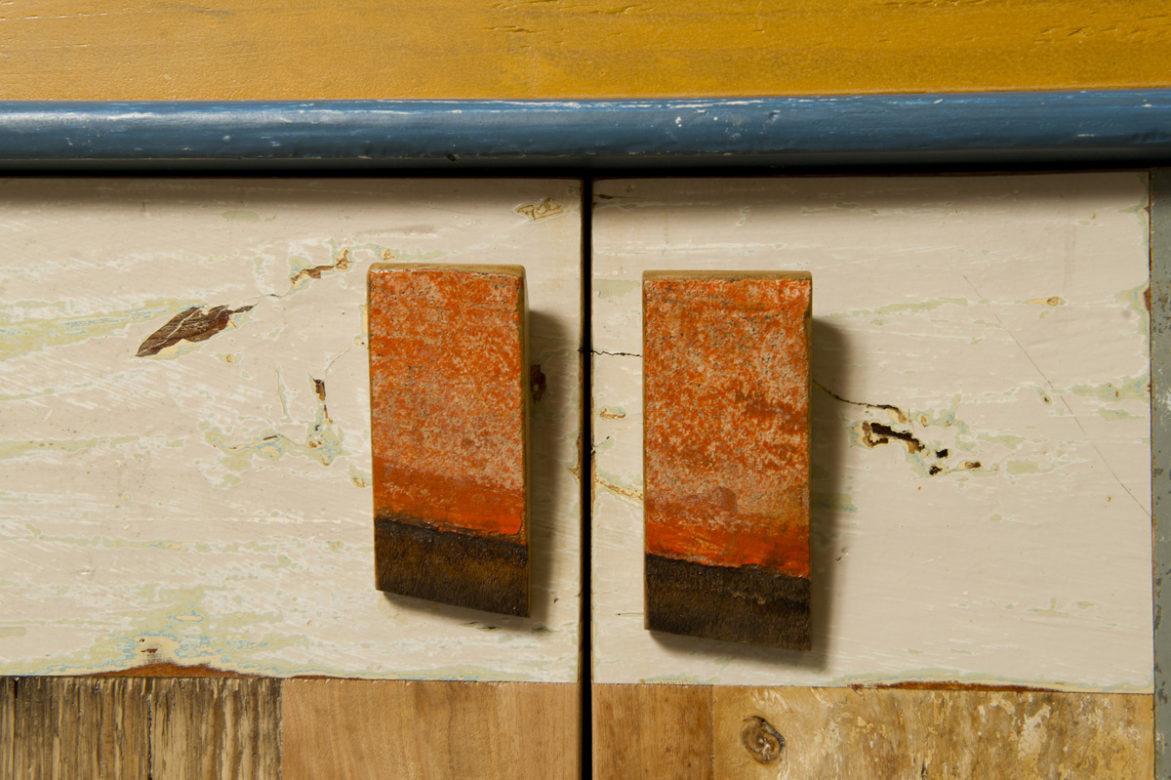 ante per parete attrezzata contemporanea in legno