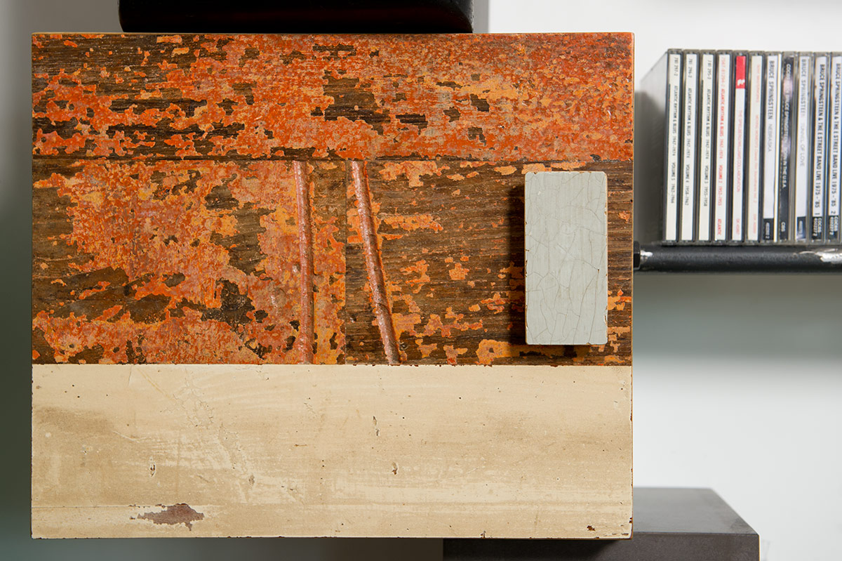 sportello legno di recupero stile controprogetto
