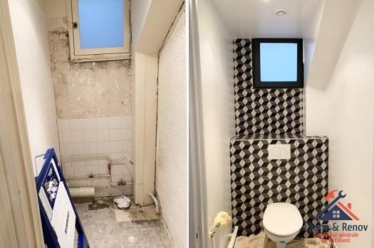Rénovation de salle de bain dans un appartement à Boulogne-Billancourt