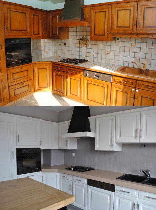 Rénovation d'intérieur Hauts de seine : rénovation d'une cuisine à Sèvres, avant après