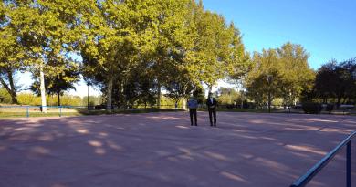 Renovación pista skate Los Fresnos