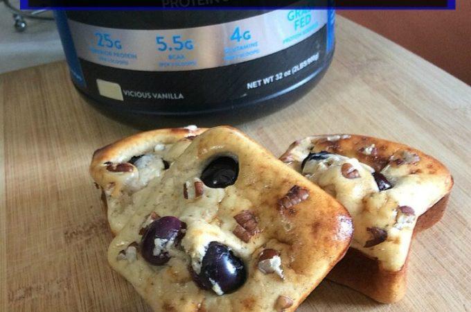 Blueberry Pecan Protein Bars