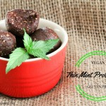 Can't wait for the holiday's to get here? Try this Thin Mint Date Protein Balls Recipe to get you in the holiday spirit. They are high in protein, gluten free, and can be made vegan by substituting with a vegan protein powder. These Chocolate Mint Date Energy Balls are made with minimal ingredients and super easy to make.