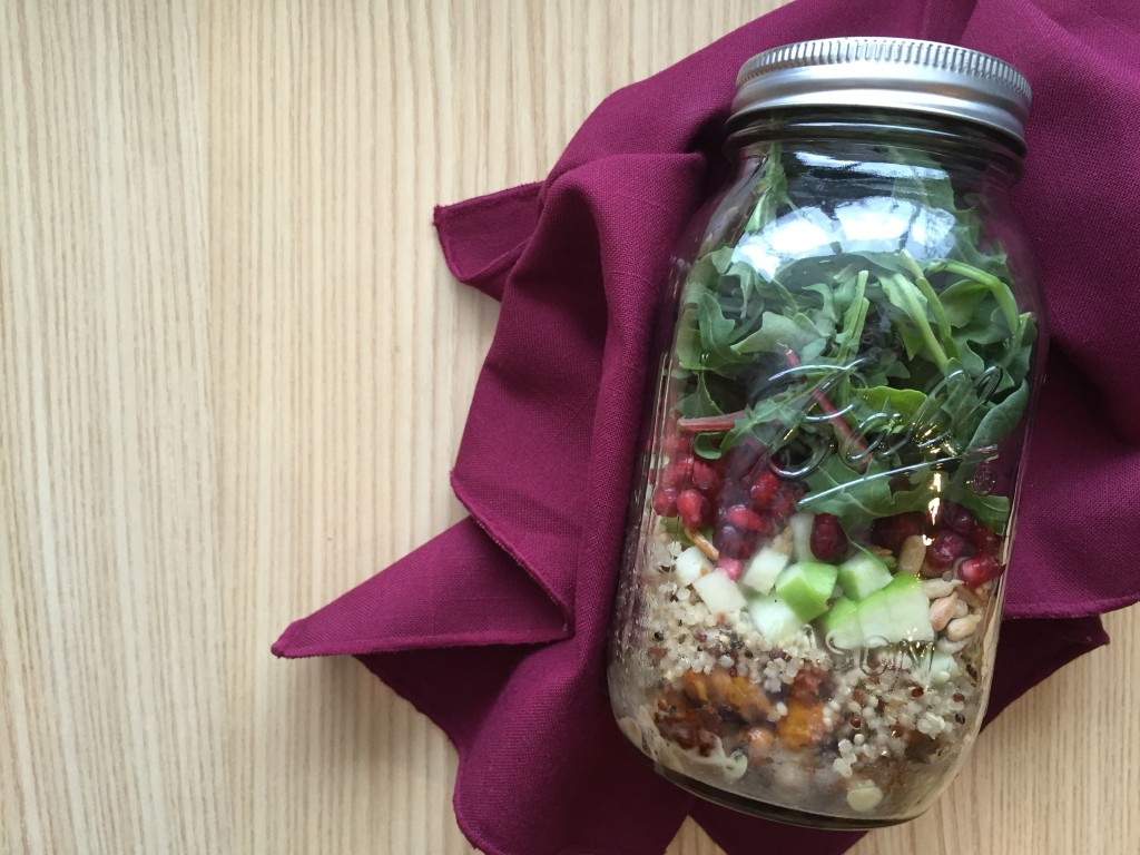 Winter Salad in a JAr recipe
