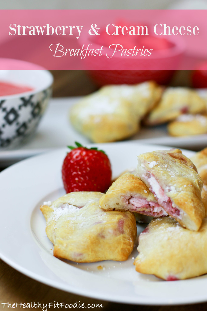 STRAWBERRY & CREAM CHEESE Breakfast Pastries
