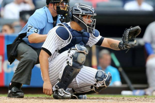 gary sanchez catching