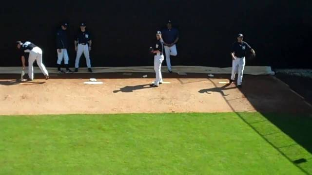 yankee st bullpen session