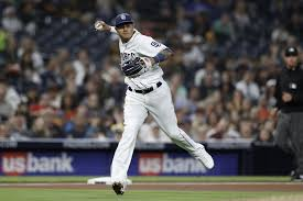 Manny Machado Padres Throwing