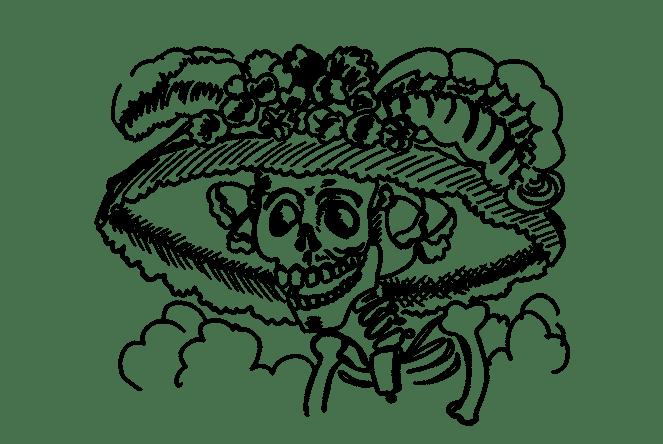 La Catrina of Día De Los Muertos