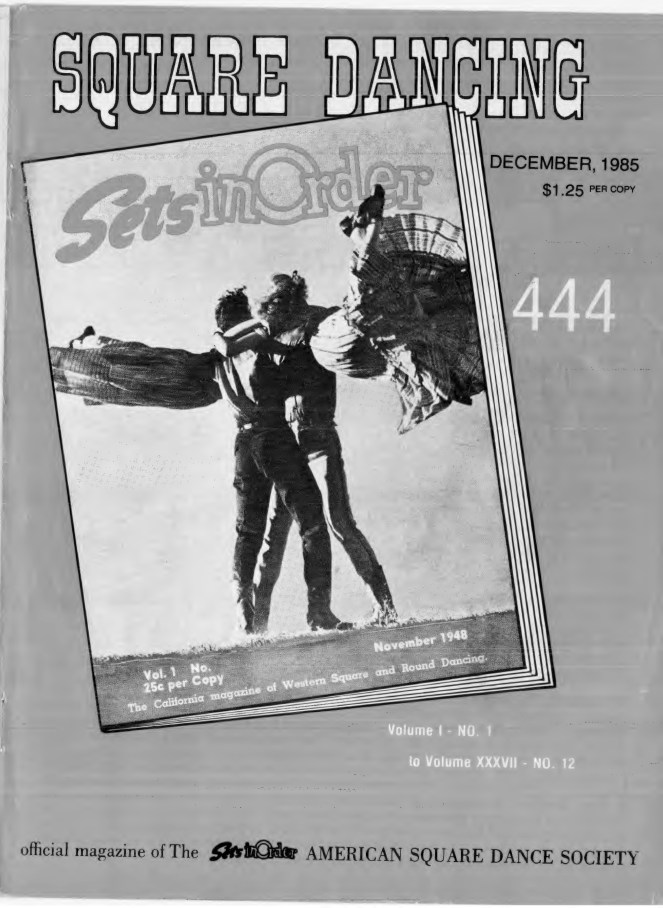 Sets in Order December 1985 Cover & Holiday Greeting