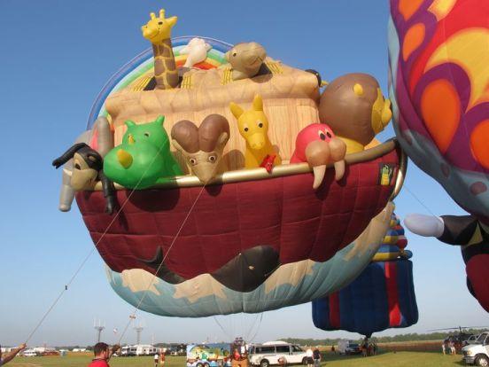 Noah's Ark Hot Air Balloon