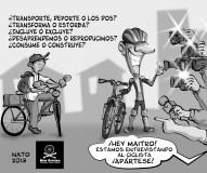 Tercer Programa de Bicivilizate: La Bicicleta en los medios de comunicación