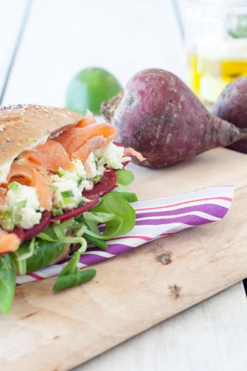 sandwich saumon feta betterave 3