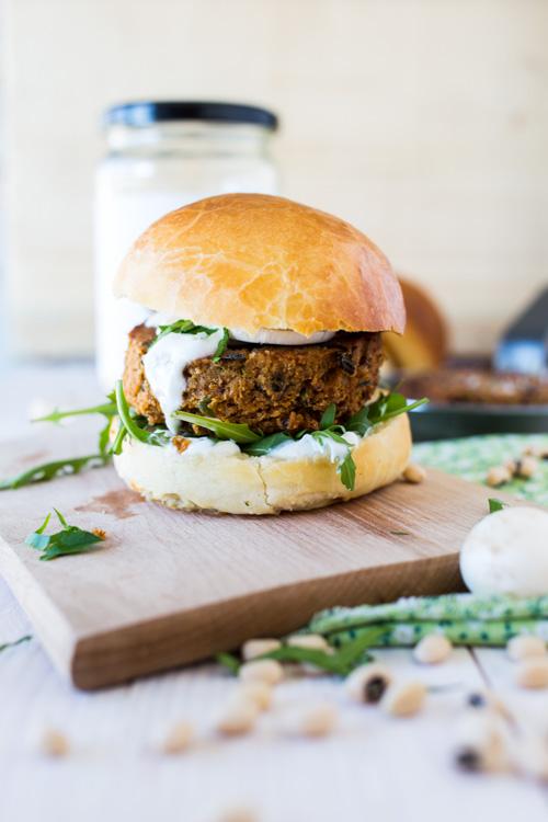 Veggie Burger (Falafel de Pois à Vache)