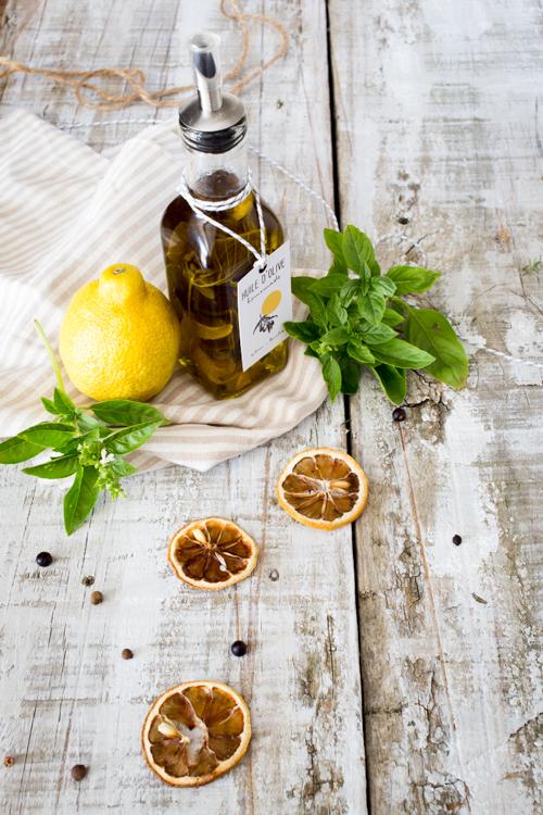 huiles parfumées-citron & basilic