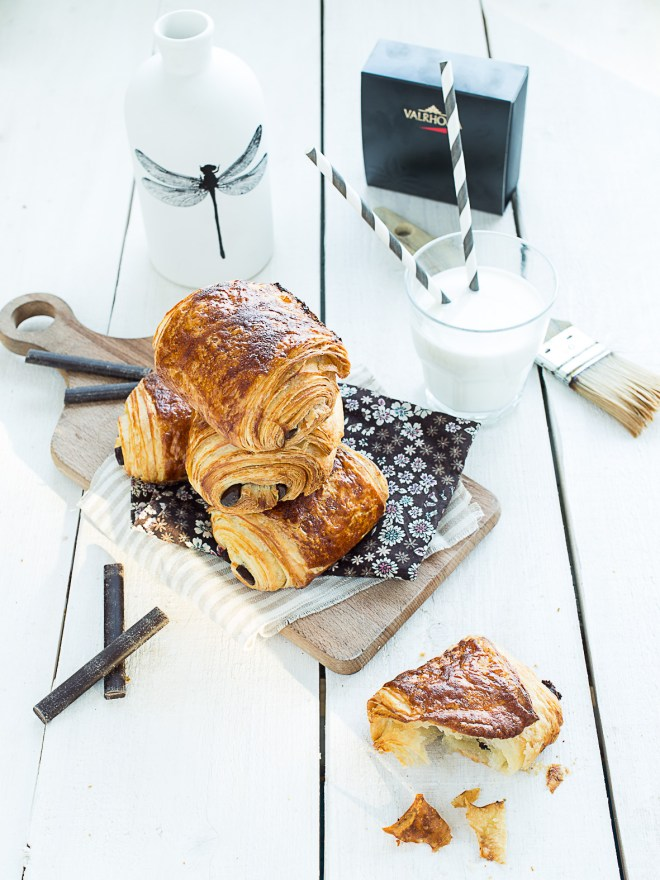 pains au chocolat maison