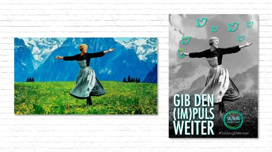 Plakat Plakatserie Kampagne Anna Trapp