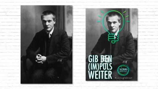 Plakat Plakatserie Georg Trakl