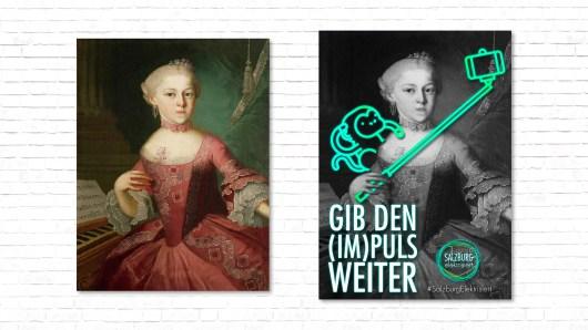 Plakat Plakatserie Nannerl Selfie-Stick Pipi Langstrumpf