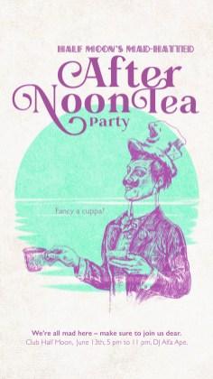 Club Halfmoon Afternon Tea Mad Hatted Hatter Teaparty |larafinesse