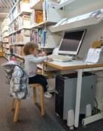 Biblioteca, Aurembiaix, fomentar lectura, nascuts per llegir, nacidos para leer