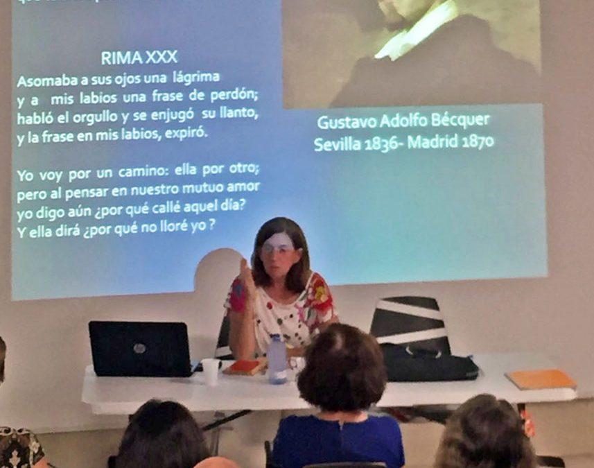 Cecilia Domínguez, Premio Canarias de Literatura 2015, inaugura la II Temporada del Club de Lectura La Ranilla