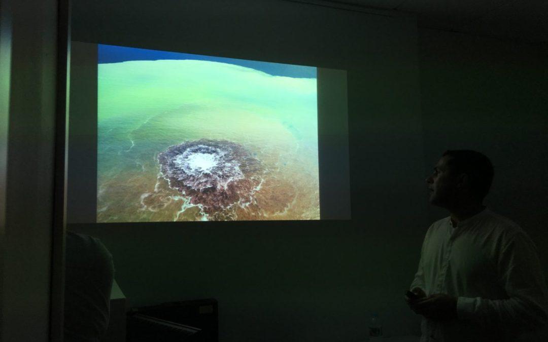 """""""Mare Fervens"""" desde la visión del Dr. Germán D. Padilla Hernández, Investigador Tecnológico y de Energías Renovables, colaborador del Instituto Volcanológico de Canarias."""