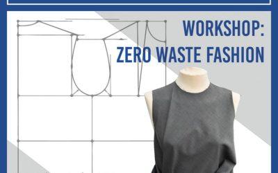 """Taller de moda sostenible """"Zero Waste"""" en La Ranilla Espacio Cultural el 17 y 18 de noviembre"""