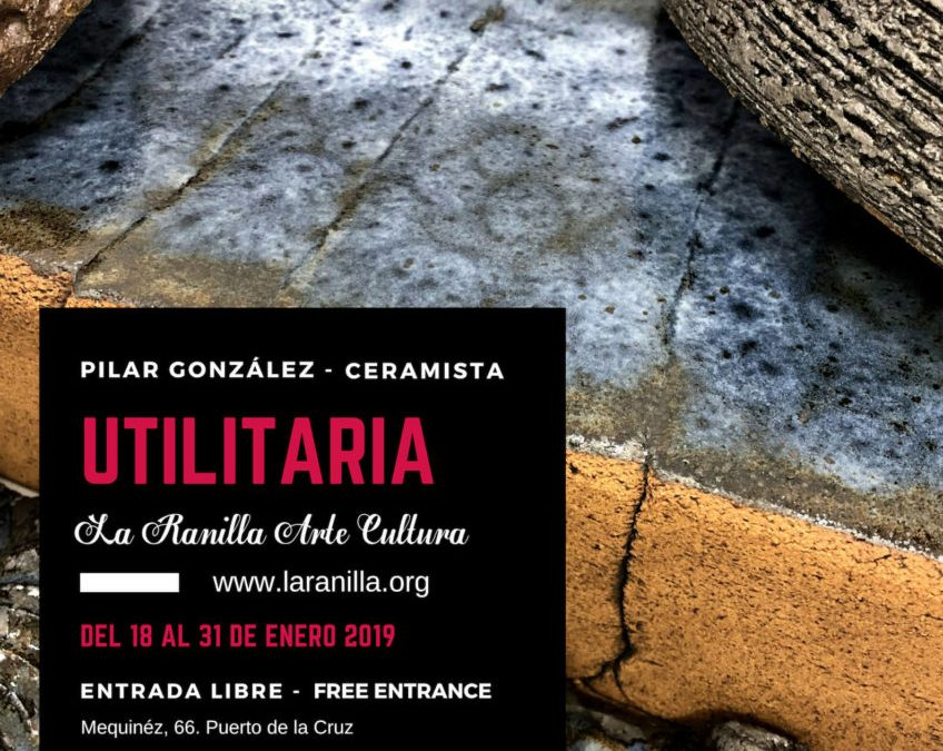 """""""Utilitaria"""" de la artista Pilar González """"Jícara"""". Una muestra de cerámica enfocada a la gastronomía a partir del próximo día 18 en La Ranilla Espacio Cultural"""